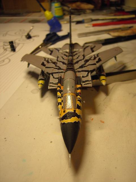 "Tornado ECR ""tigermeet 2011/12"" REVELL 1/72. Tornad16"