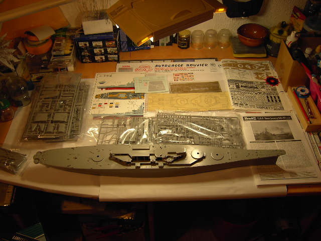 U.S.S New Jersey BB-62 1/350 REVELL limited edition Vente_11