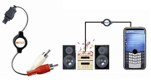 Accesoire pour l'audio Rca10