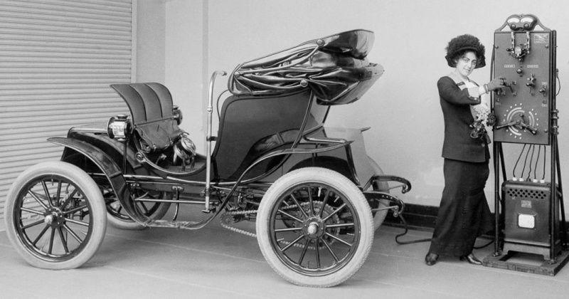 La voiture électrique a été créée il y a plus de ... 120 ans !!!  La_1yr10