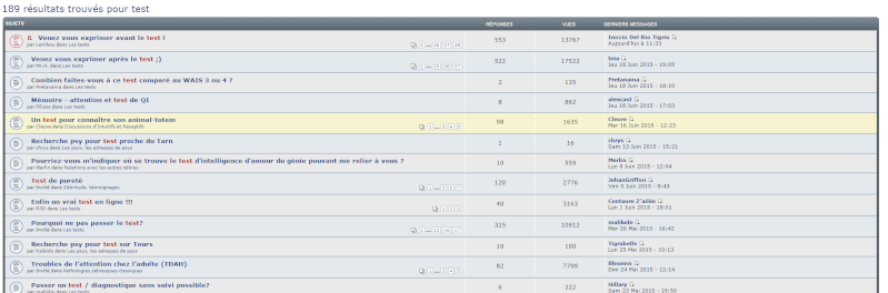 Tips & Tricks du forum Recher10