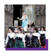 SI IMPORTANTES APPARITIONS MARIALES AU FRANKENBOURG  ! - ALSACE - 1872.1877 Alsaci10