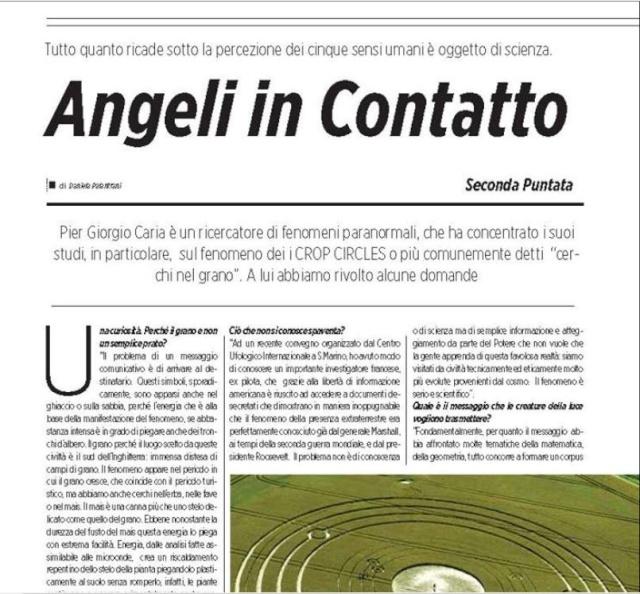 PIER GIORGIO CARIA.... GIORGIO BONGIOVANNI... ET LEURS AMIS....  LES ACROGLYPHES DANS LE MONDE  Contac13