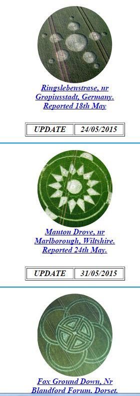 LES CROP CIRCLES............... QUELLE AVENTURE !!! Mai10