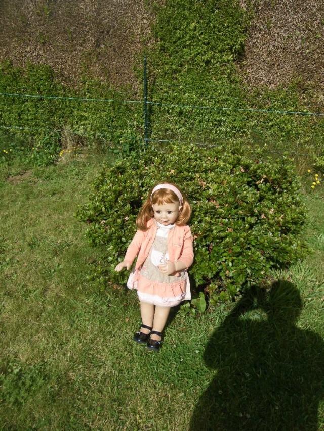 Mélodie et sa jolie tenue Imgp9616