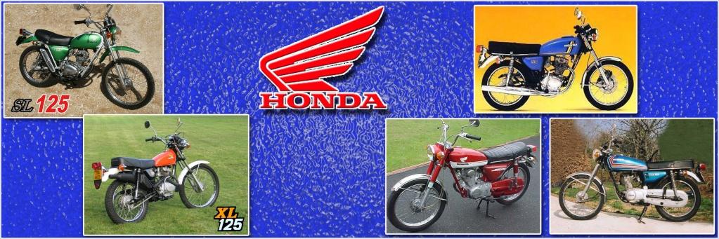 Honda 125 mono des années 70