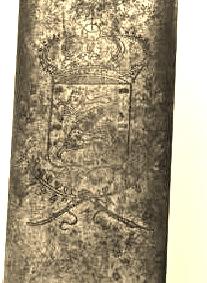 Identification d'une épée à coquille Lame10