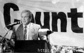 George Bush copycat  Jacob Zuma George10