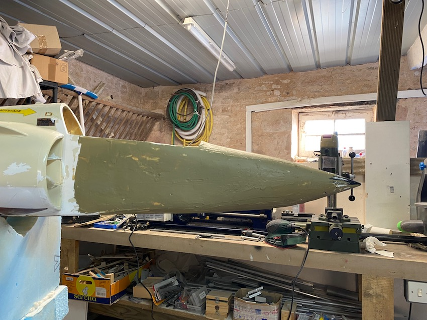 avion - Reconstruction d'un avion en Airex Img_2328