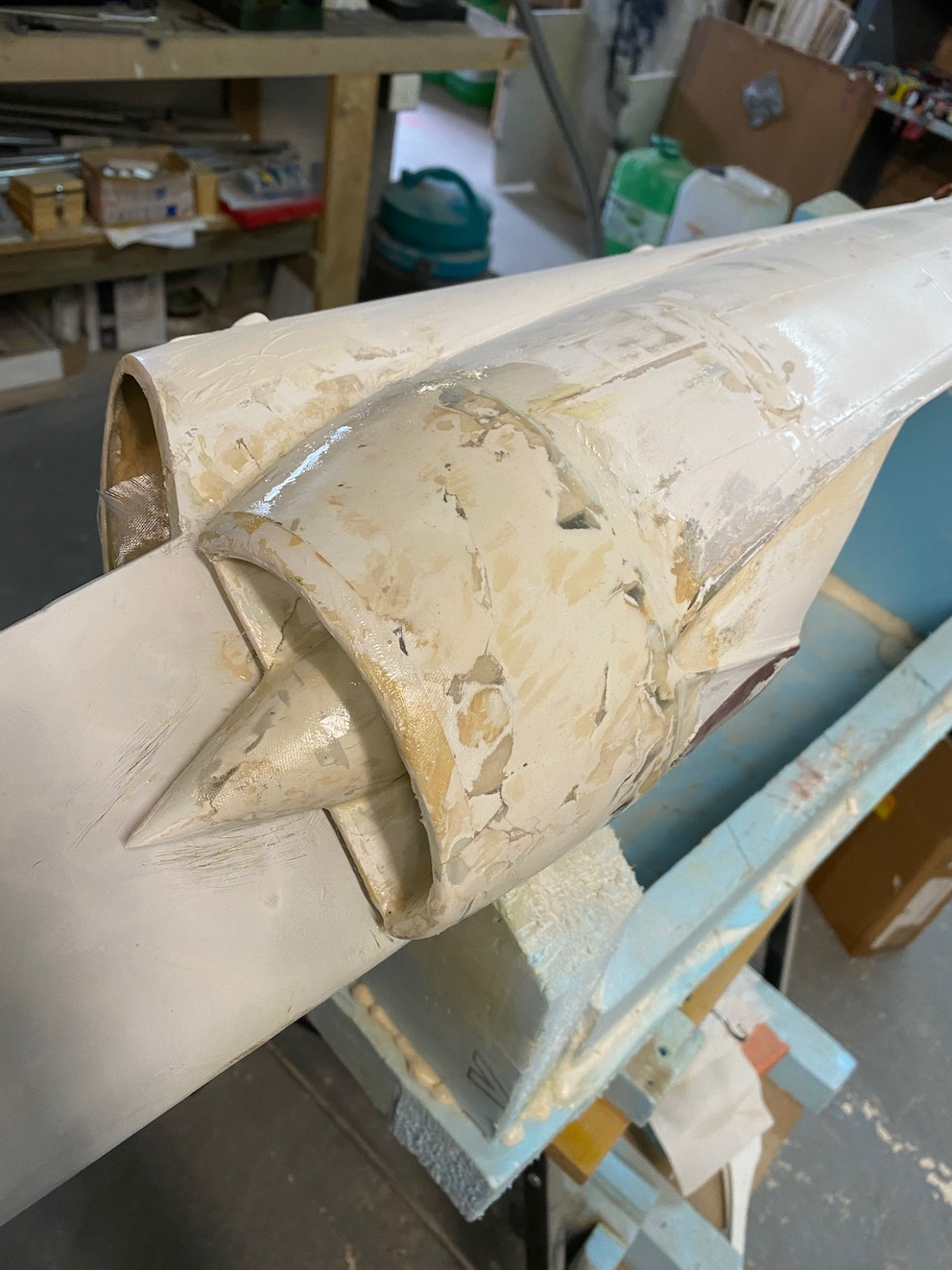 avion - Reconstruction d'un avion en Airex Img_2345
