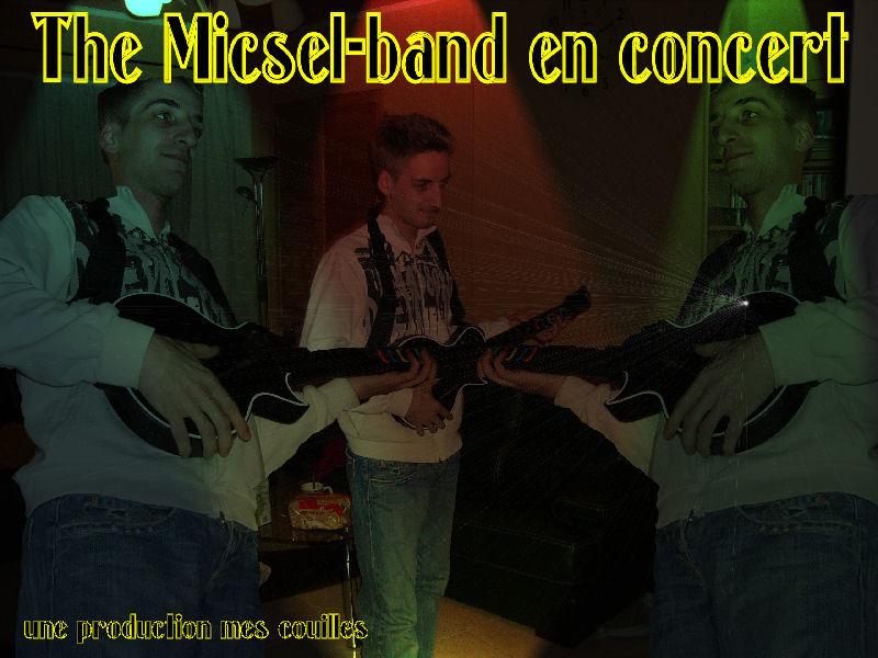 Micsel  en concert Micsel10