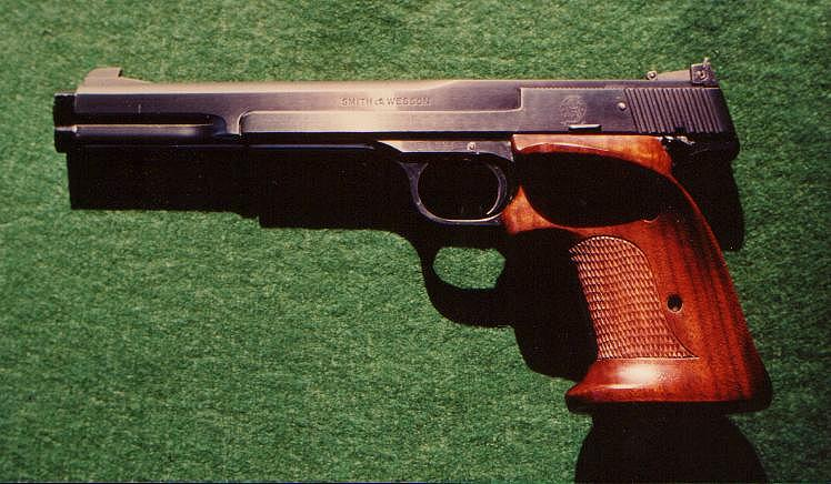 pistolet ou revolver spécifiquement gaucher? Sw41-710