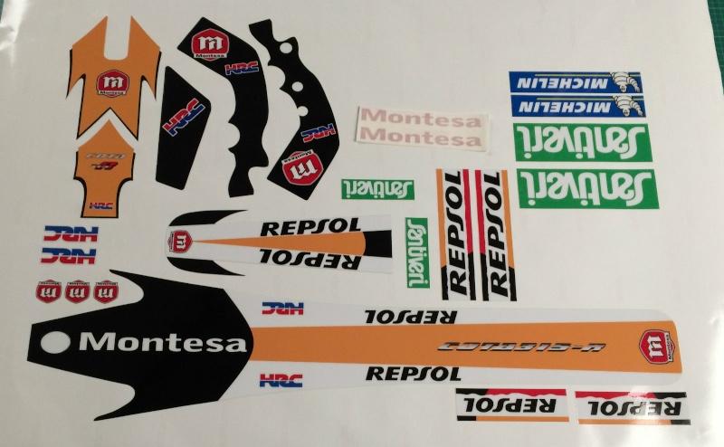 Kit deco Repsol pour 315r _5710