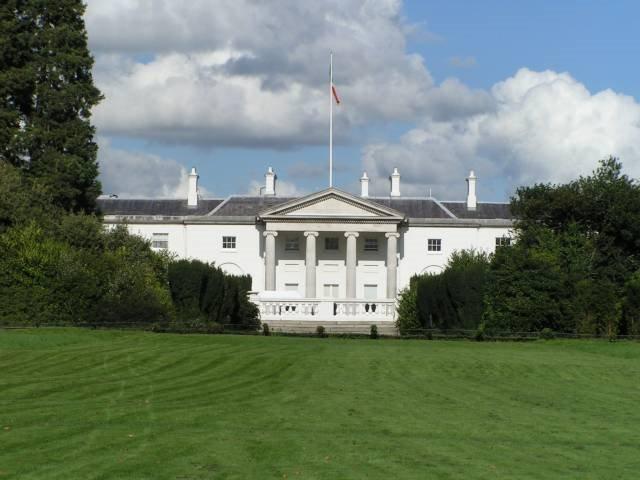 La maison blanche à Dublin 31420010