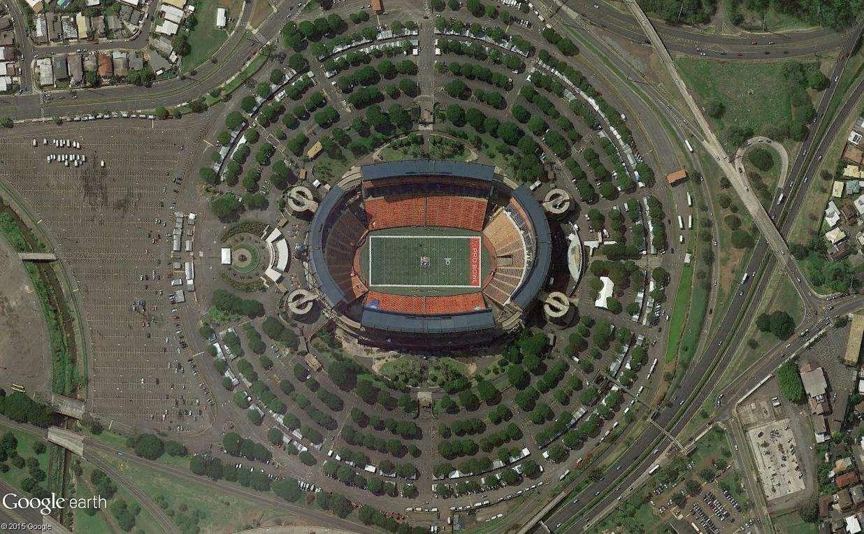 L'Aloha Stadium, un stade à géométrie variable (Honolulu, Hawaï) Aloha10