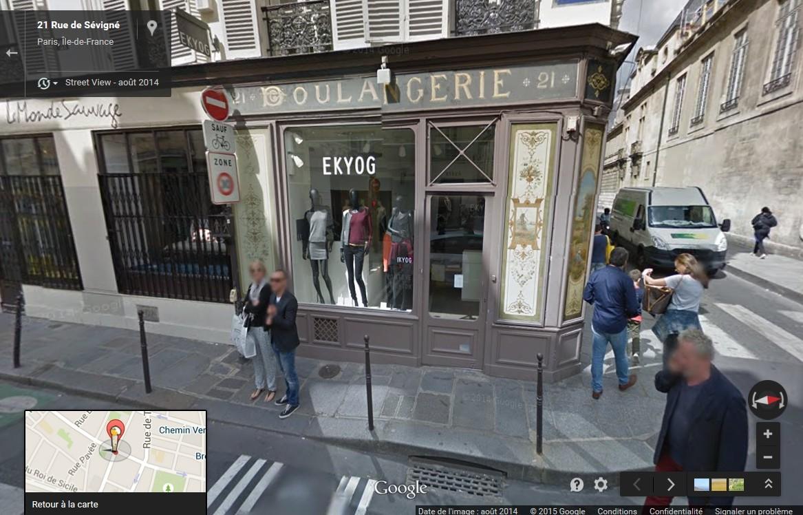 STREET VIEW : les façades de magasins (France) - Page 4 Boulan10