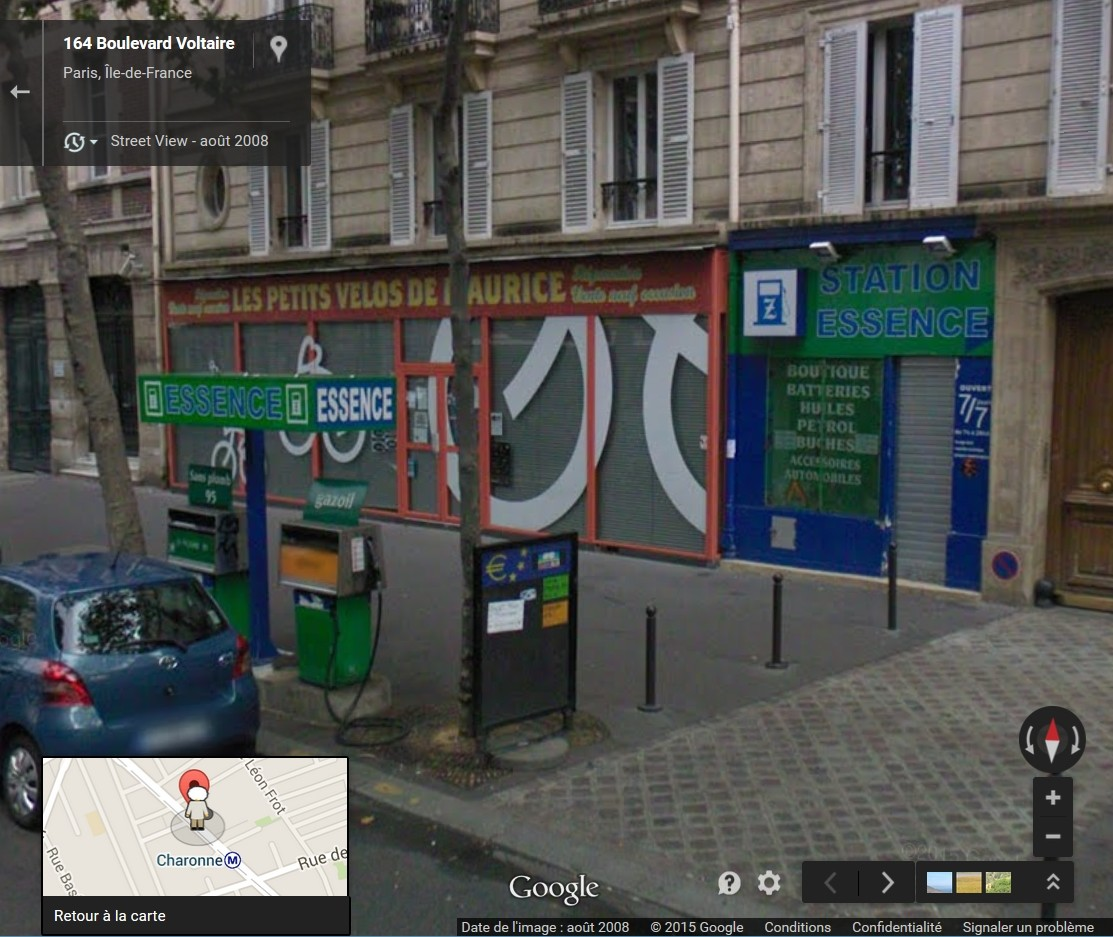 STREET VIEW : les enseignes de stations carburant / essence - Page 2 Buches10