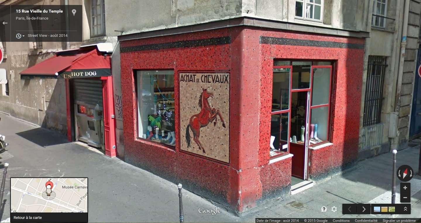 STREET VIEW : les façades de magasins (France) - Page 4 Chevau10