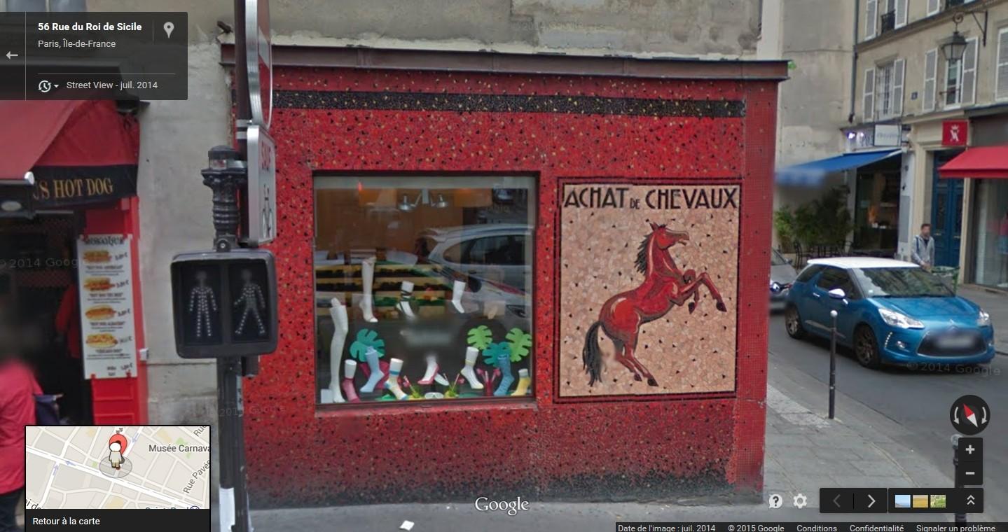 STREET VIEW : les façades de magasins (France) - Page 4 Chevau11