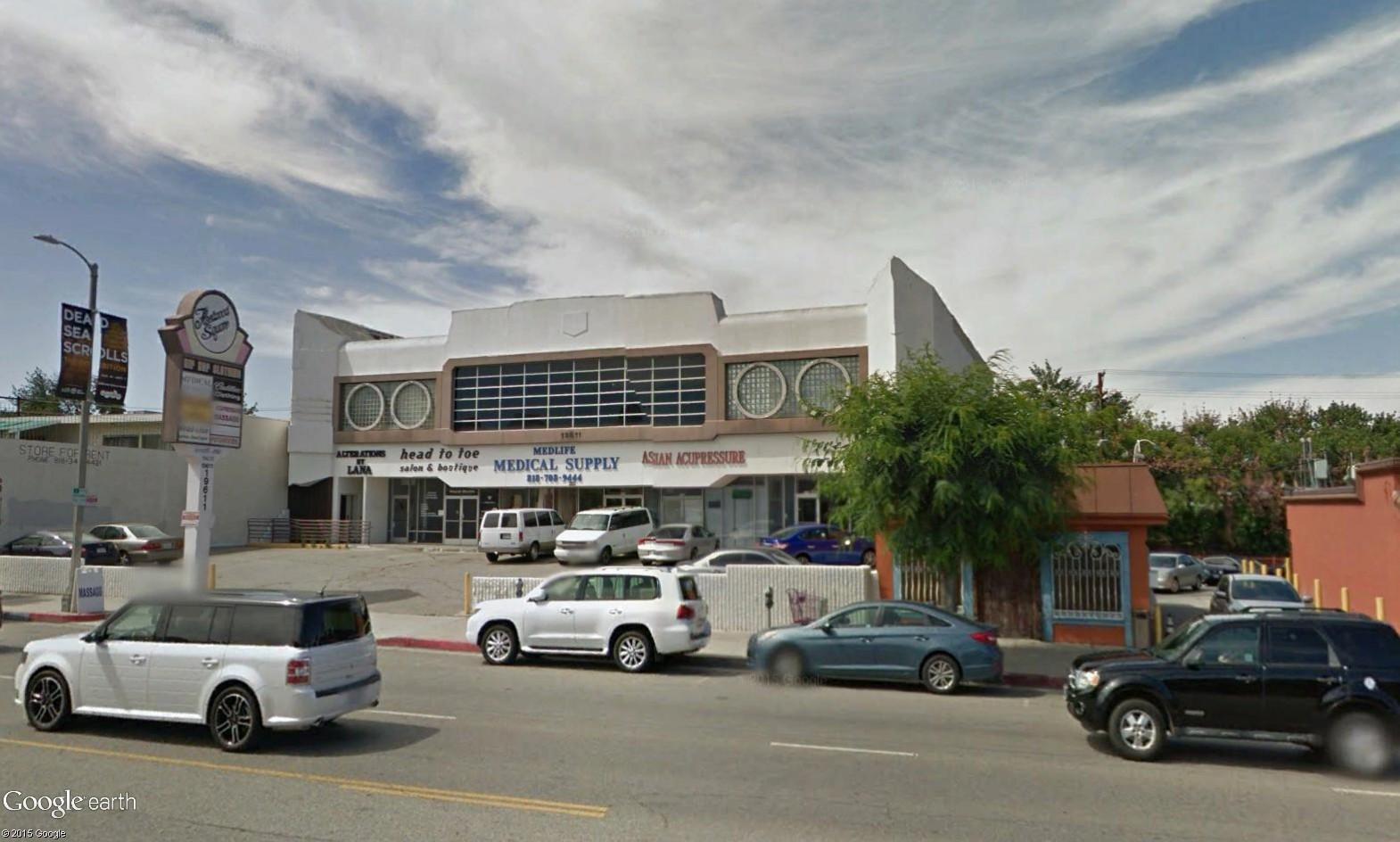 Fletwood Center (Los Angeles) : un immeuble avec une gueule de Cadillac  Chysle10