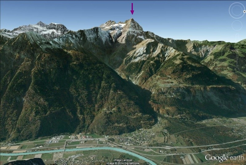 L'effondrement du Tauredunum en l'an 563 (Valais, Suisse) Envion10