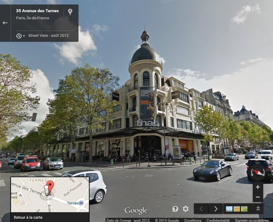 STREET VIEW : les façades de magasins (France) - Page 4 Fnac10