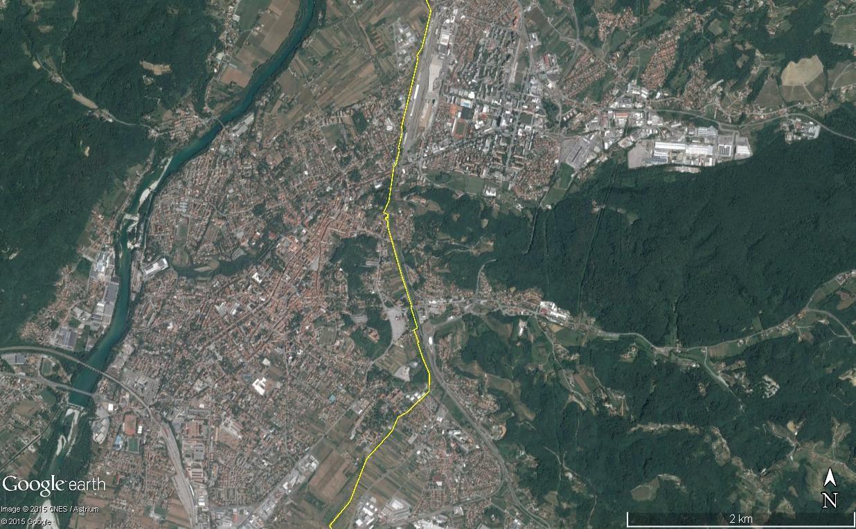 Les villes à cheval sur une frontière Gorica10