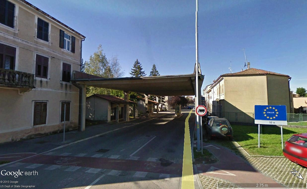 Les villes à cheval sur une frontière Gorica13
