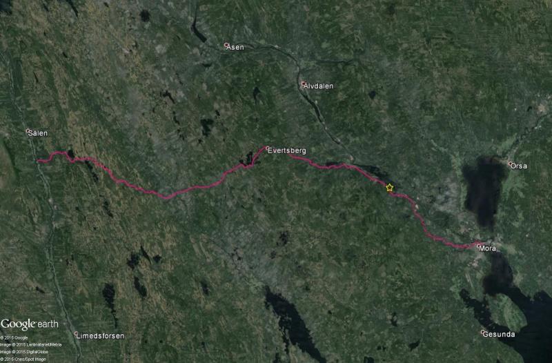 La Vasaloppet : plus longue course de ski de fond au monde - Page 2 Lac10