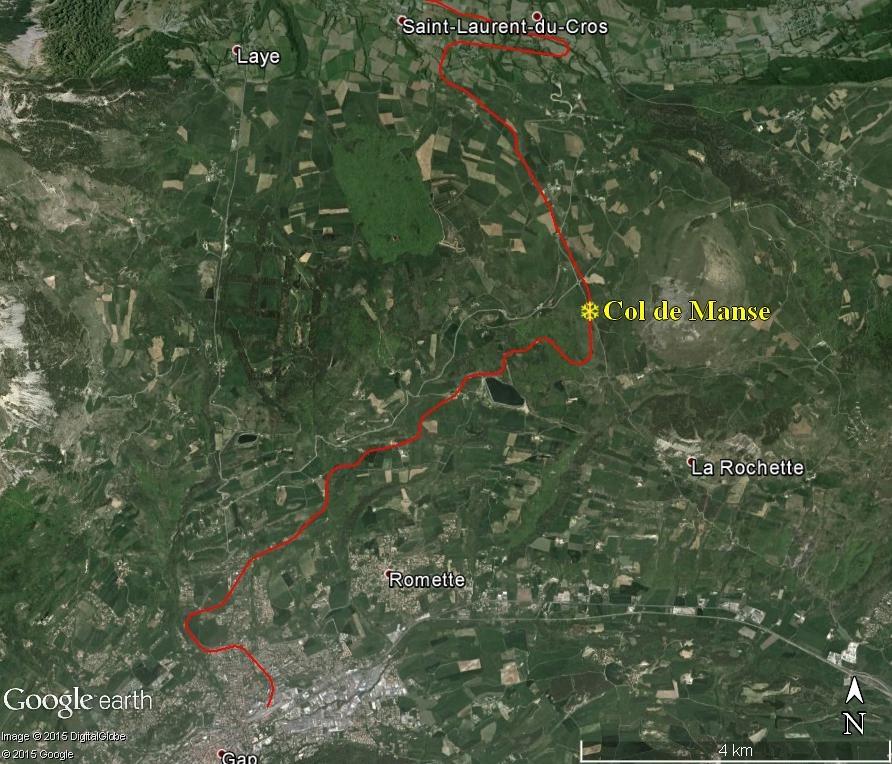 La ligne du Champsaur : une ligne de chemin de fer presque terminée, jamais mise en service Manse10