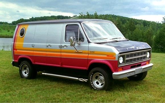 Ford Econoline Cruising Van Amt-r210