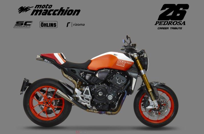 2019 HONDA CB1000R | Dani Pédrosa tribute édition 2018-h10