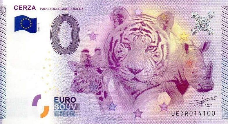 Billets 0 € Souvenirs [Normandie = 51] 1410