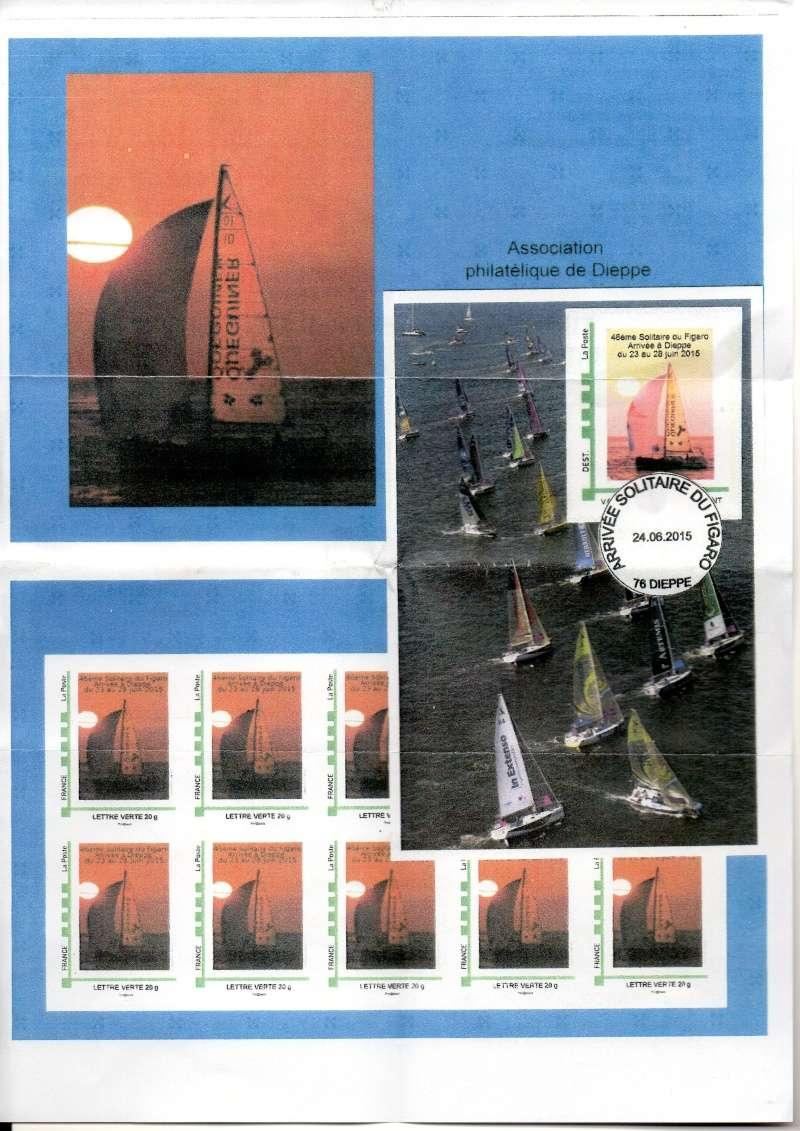76 - Dieppe - Association Philatélique -Solitaire du Figaro  Img11310