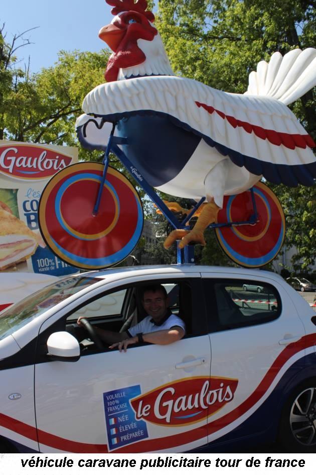 CARAVANE PUBLICITAIRE LE GAULOIS TOUR DE FRANCE  2015 10432511