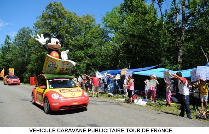 CARAVANE PUBLICITAIRE LE JOURNAL DE MICKEY 2014 10530810