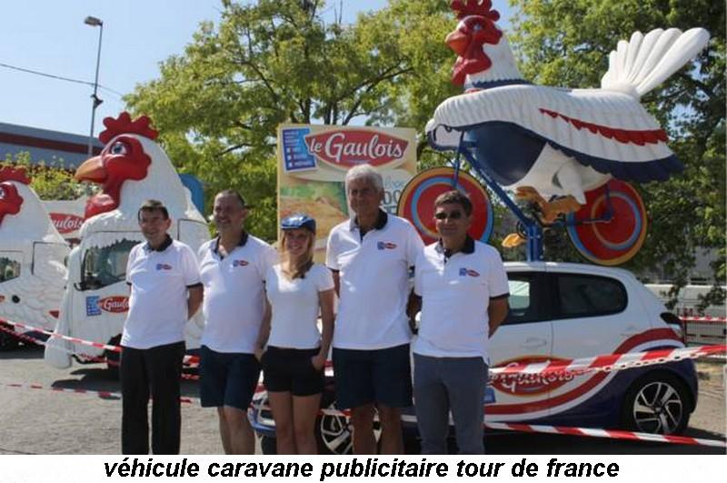 CARAVANE PUBLICITAIRE LE GAULOIS TOUR DE FRANCE  2015 11412111