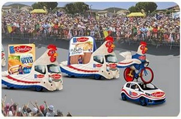 CARAVANE PUBLICITAIRE LE GAULOIS TOUR DE FRANCE  2015 11425111