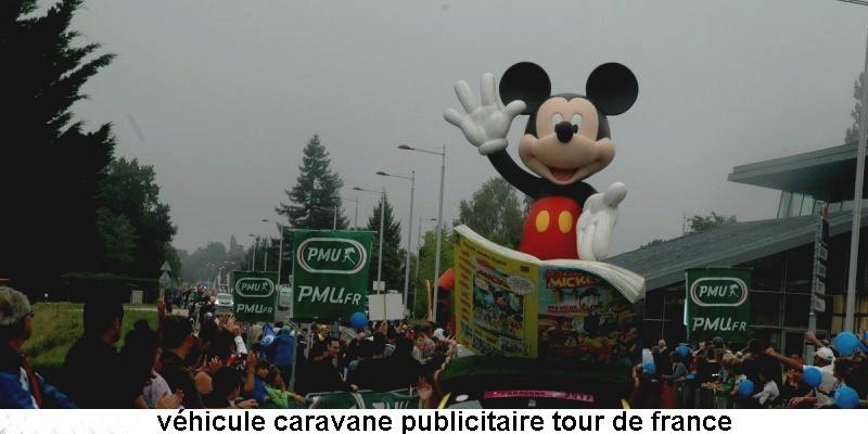 CARAVANE PUBLICITAIRE LE JOURNAL DE MICKEY 2014 16273010