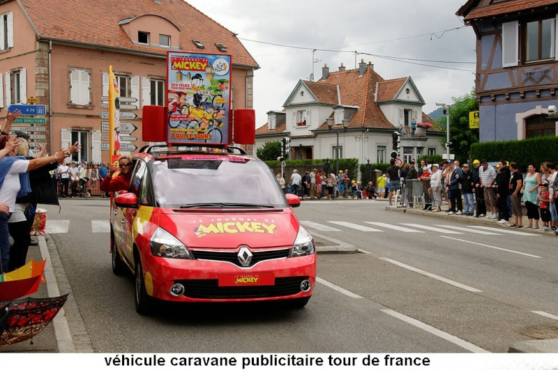 CARAVANE PUBLICITAIRE LE JOURNAL DE MICKEY 2014 2014-010