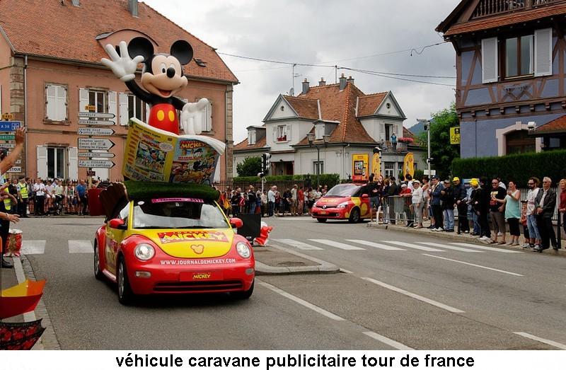 CARAVANE PUBLICITAIRE LE JOURNAL DE MICKEY 2014 2014-011