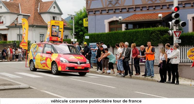 CARAVANE PUBLICITAIRE LE JOURNAL DE MICKEY 2014 2014-012