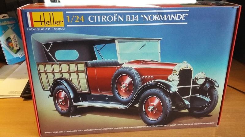 CITROËN B 14 NORMANDE 1/24ème Réf 80729 00110