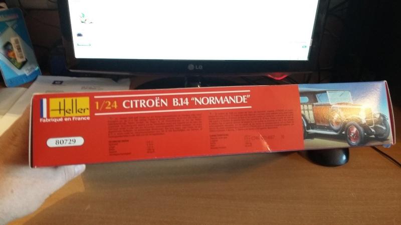 CITROËN B 14 NORMANDE 1/24ème Réf 80729 00310