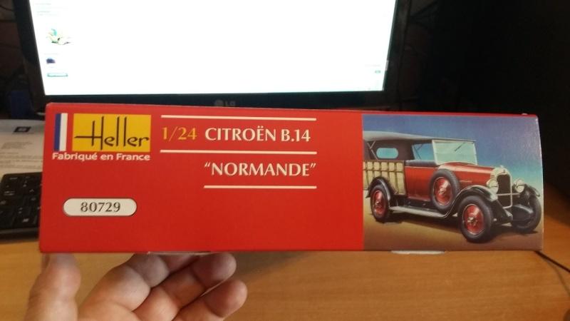 CITROËN B 14 NORMANDE 1/24ème Réf 80729 00410