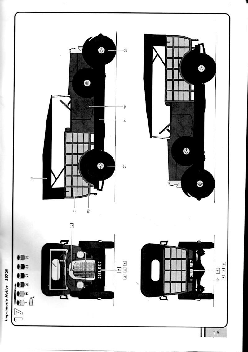 Citroën B-14 Normande au 1/24° Notice19