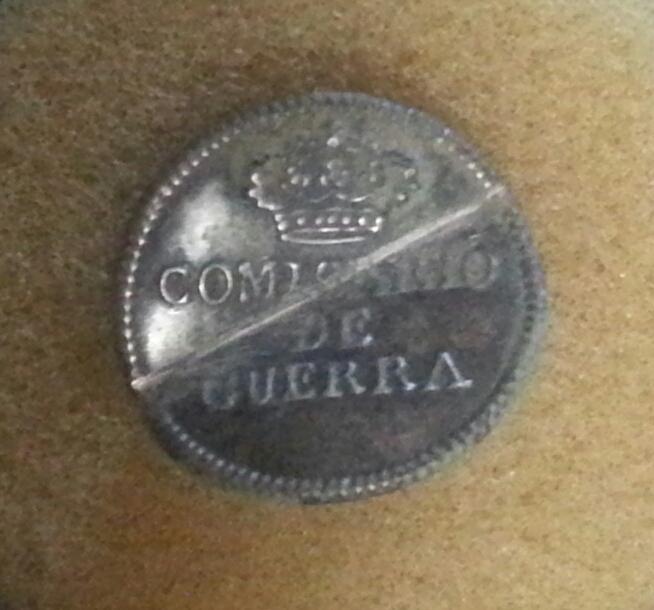 Botón de Administración Militar COMISARIO DE GUERA 1791- 1837 20181015