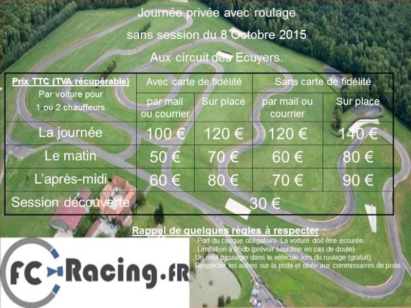 [Ecuyers] Jeudi 8 Octobre tarif spécial FC racing Ecuyer12