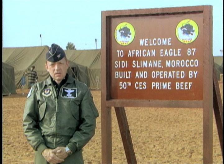Exercice African Eagle 1987 Clipbo90