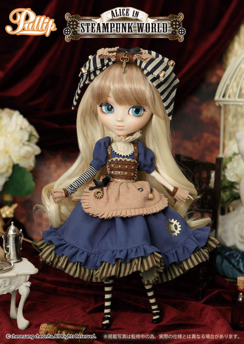 Juillet 2015 : Pullip Alice in Steampunk World P151_010